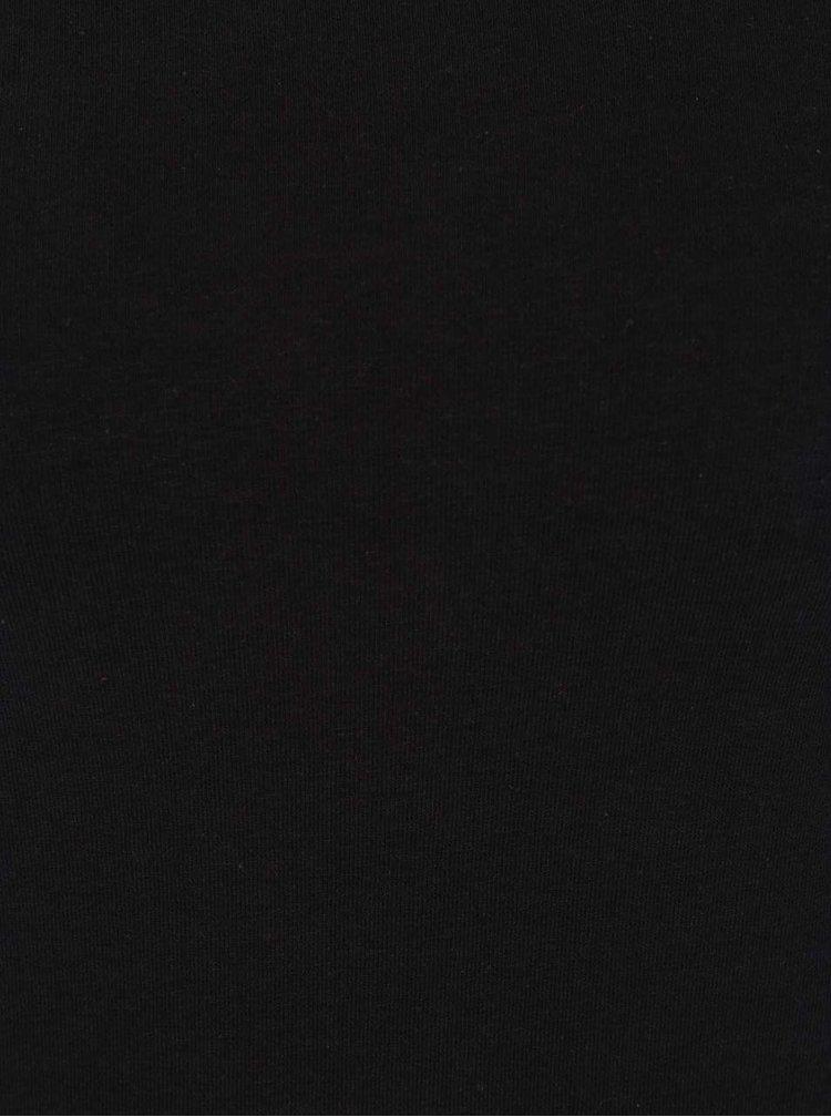 Top negru Dorothy Perkins Petite cu decolteu pe umeri