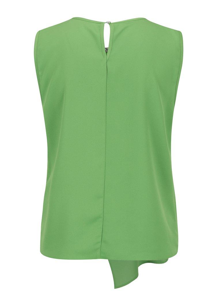 Top verde Dorothy Perkins cu aplicatii