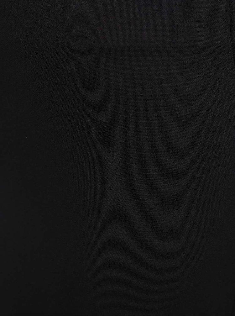 Černá pozdrová sukně se zipem vzadu Dorothy Perkins