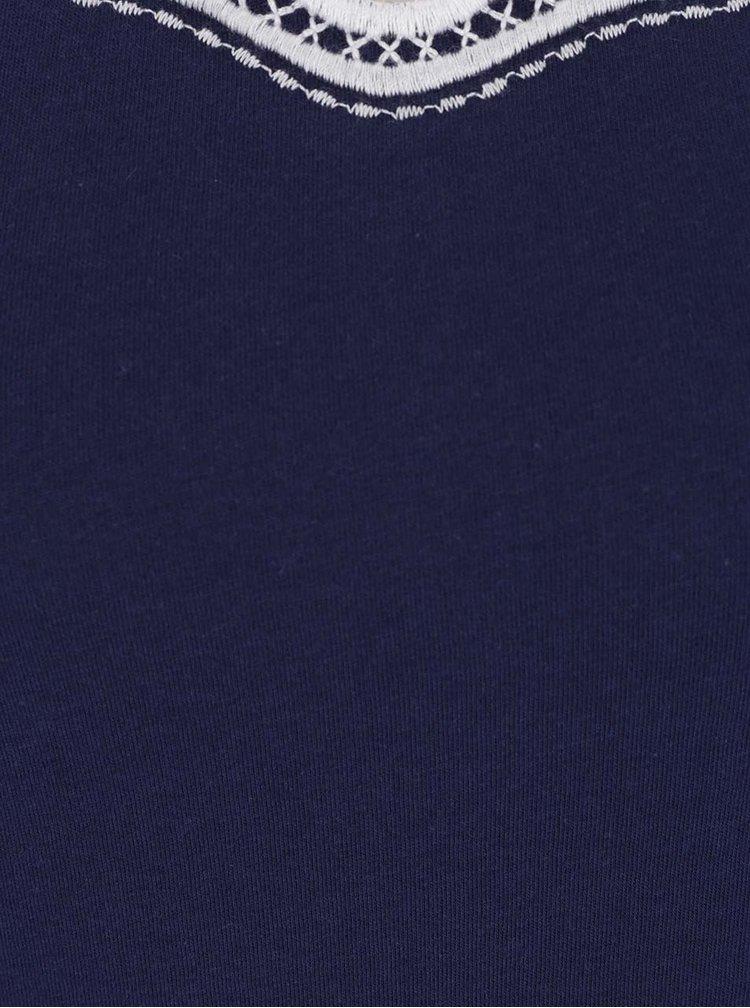 Tmavě modré tílko Dorothy Perkins