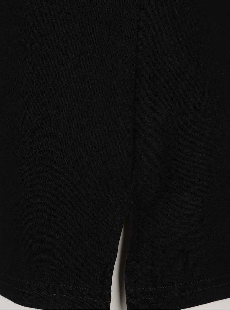 Maiou negru Dorothy Perkins cu slituri laterale