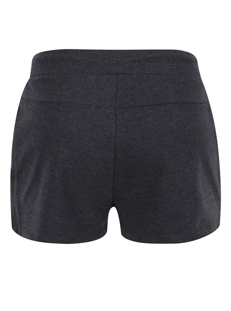 Pantaloni scurți gri închis melanj Cars Tosha cu print