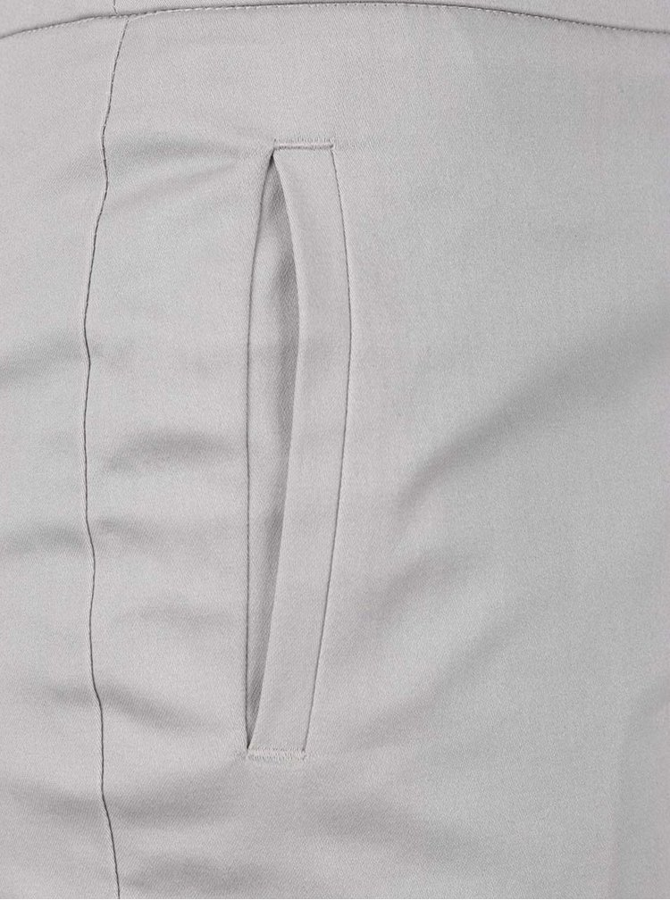 Pantaloni gri regular fit Dorothy Perkins
