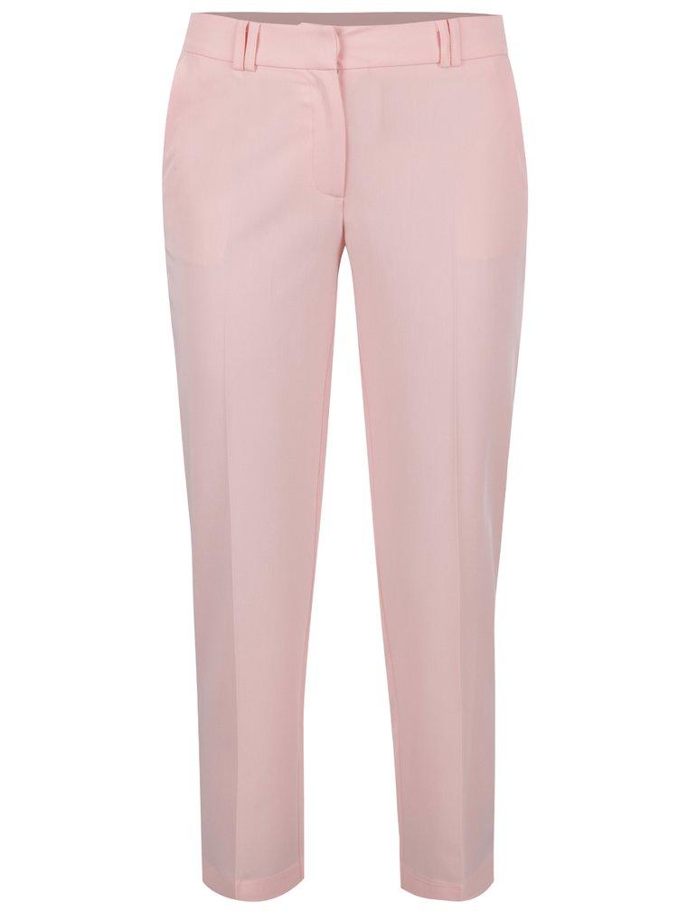 Růžové zkrácené kalhoty Dorothy Perkins