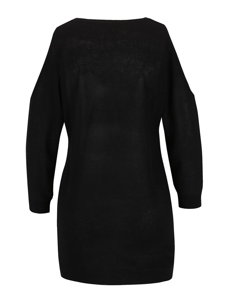 Bluza neagra Dorothy Perkins din jerseu subtire