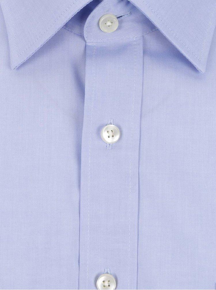 Camasa albastru deschis STEVULA din bumbac cu buzunar
