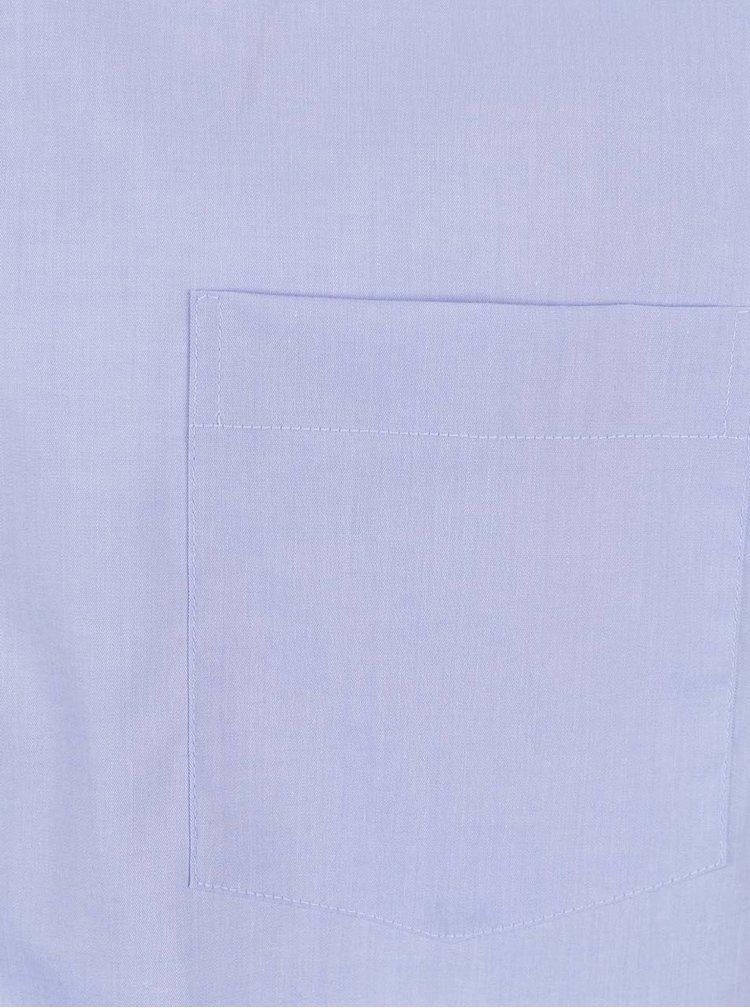 Světle modrá formální modern fit pánská košile STEVULA