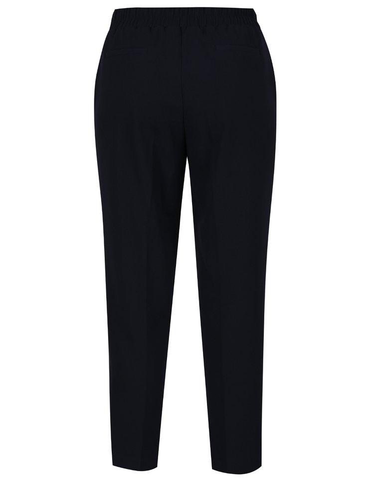 Pantaloni albastru inchis Dorothy Perkins cu talie elastica