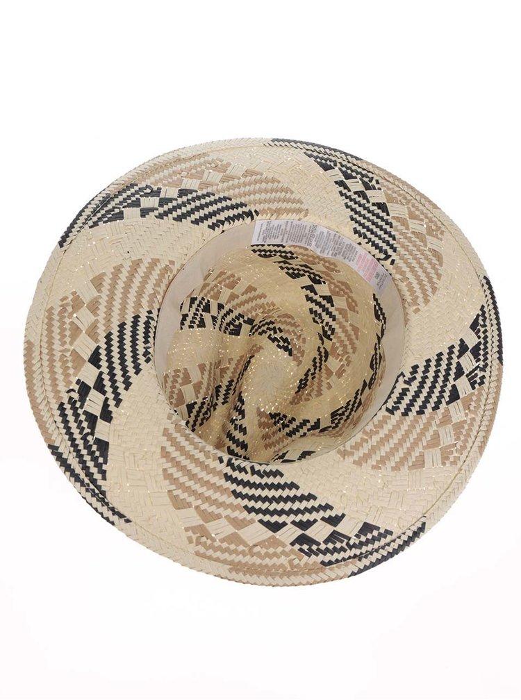 Krémový vzorovaný klobouk Dorothy Perkins