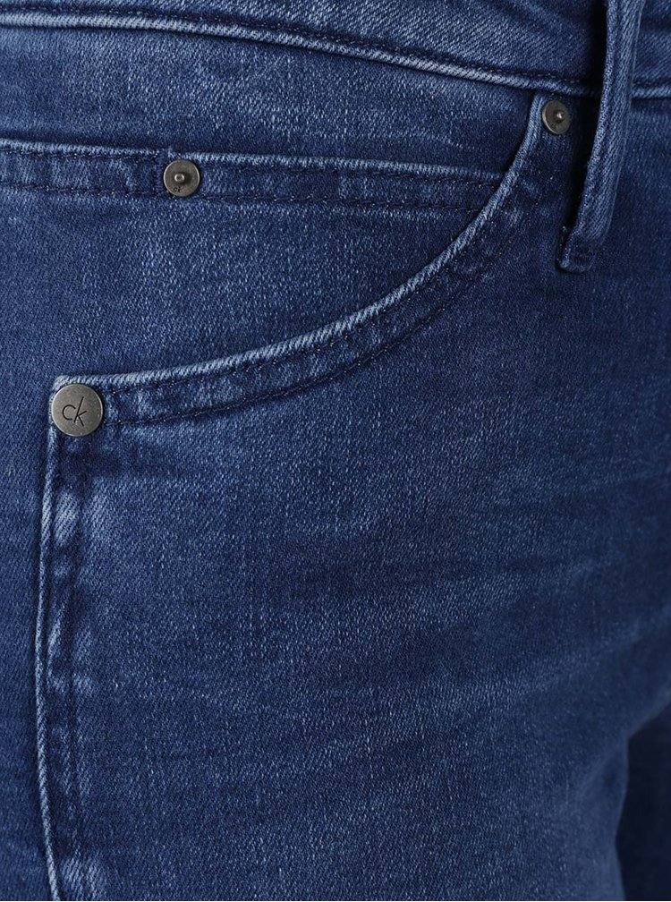 Tmavě modré dámské džíny Calvin Klein Jeans