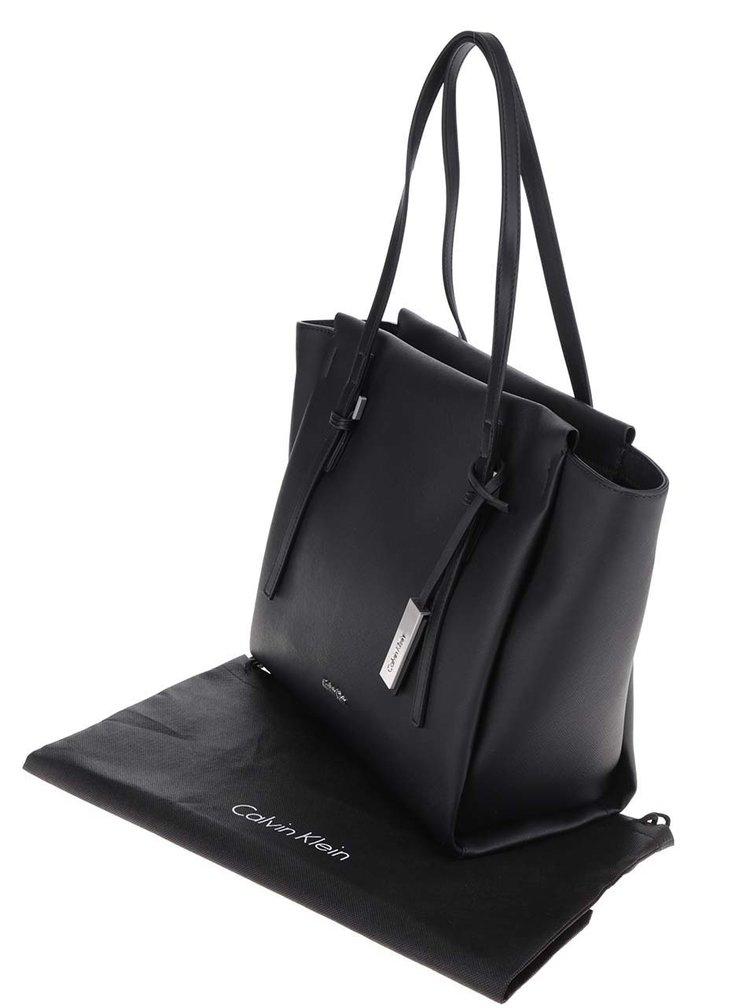 Černý shopper Calvin Klein Jeans Marissa