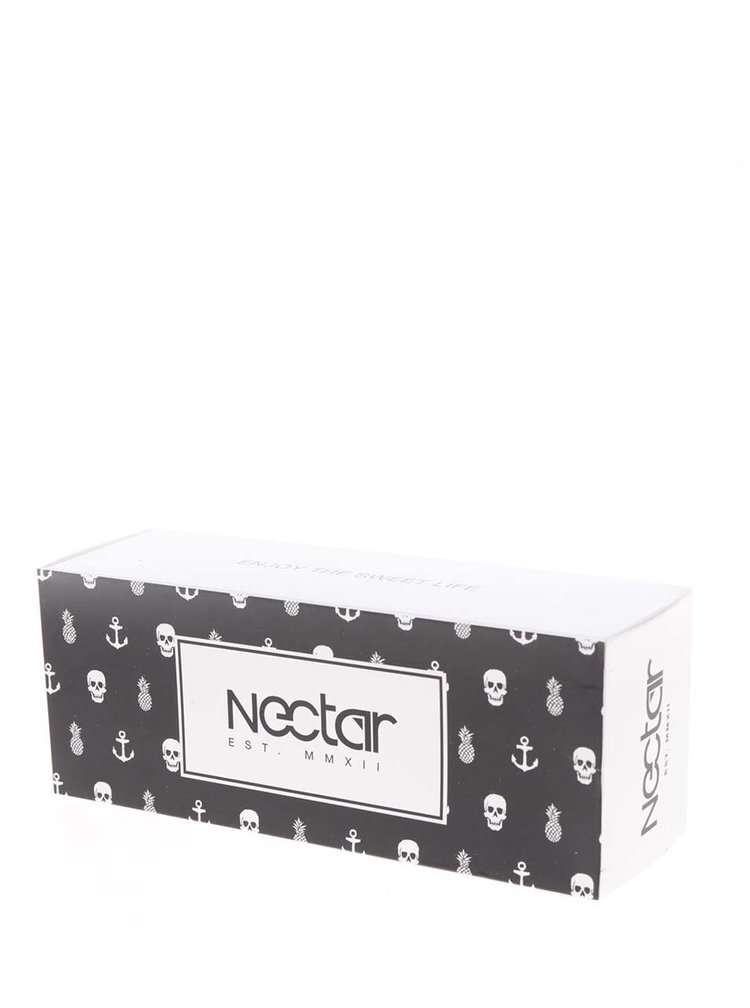 Černé pánské sluneční brýle Nectar Vegasframe