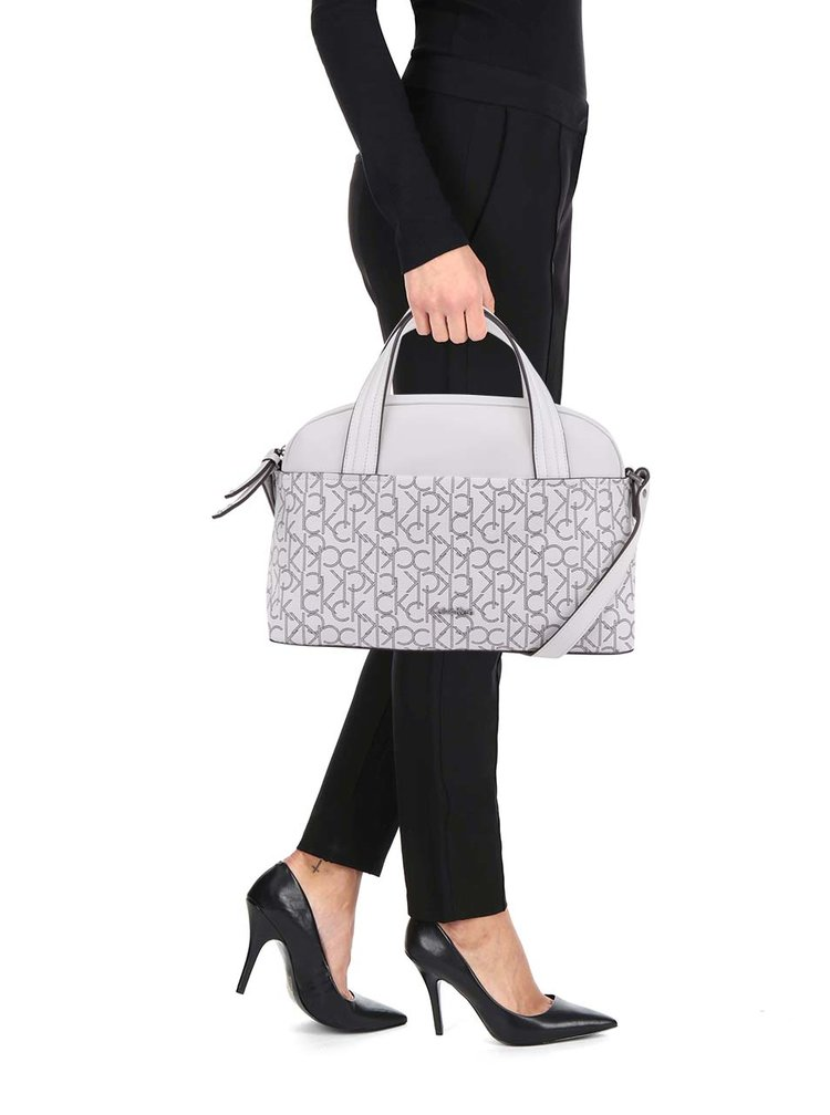 Krémová kabelka Calvin Klein Jeans Tina
