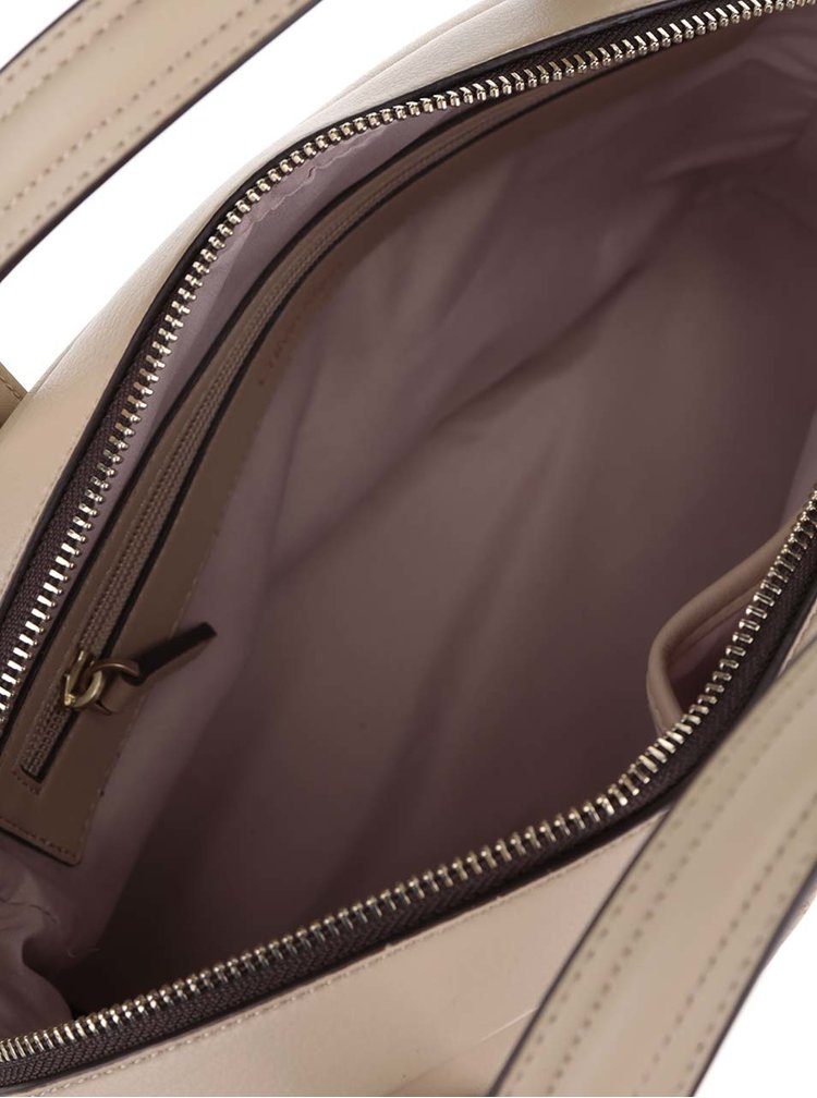 Světle hnědá kabelka Calvin Klein Jeans Tina