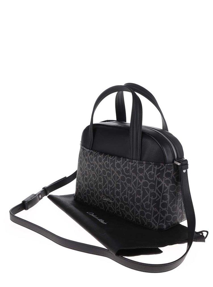 Černá kabelka Calvin Klein Jeans Tina