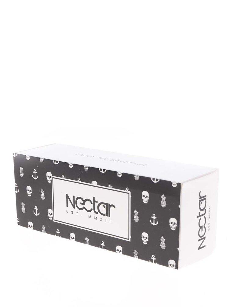 Ochelari de soare negri Nectar Moab cu lentile maro pentru femei