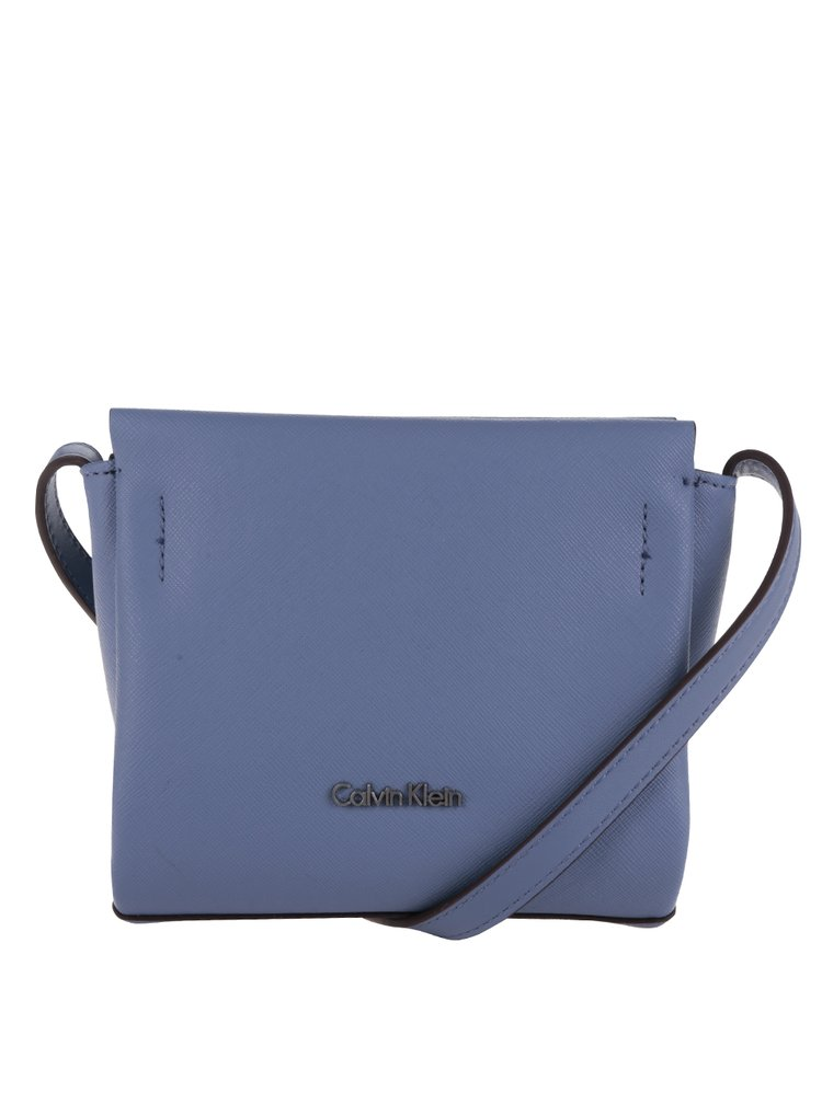 Modrá malá crossbody kabelka Calvin Klein Jeans Marissa