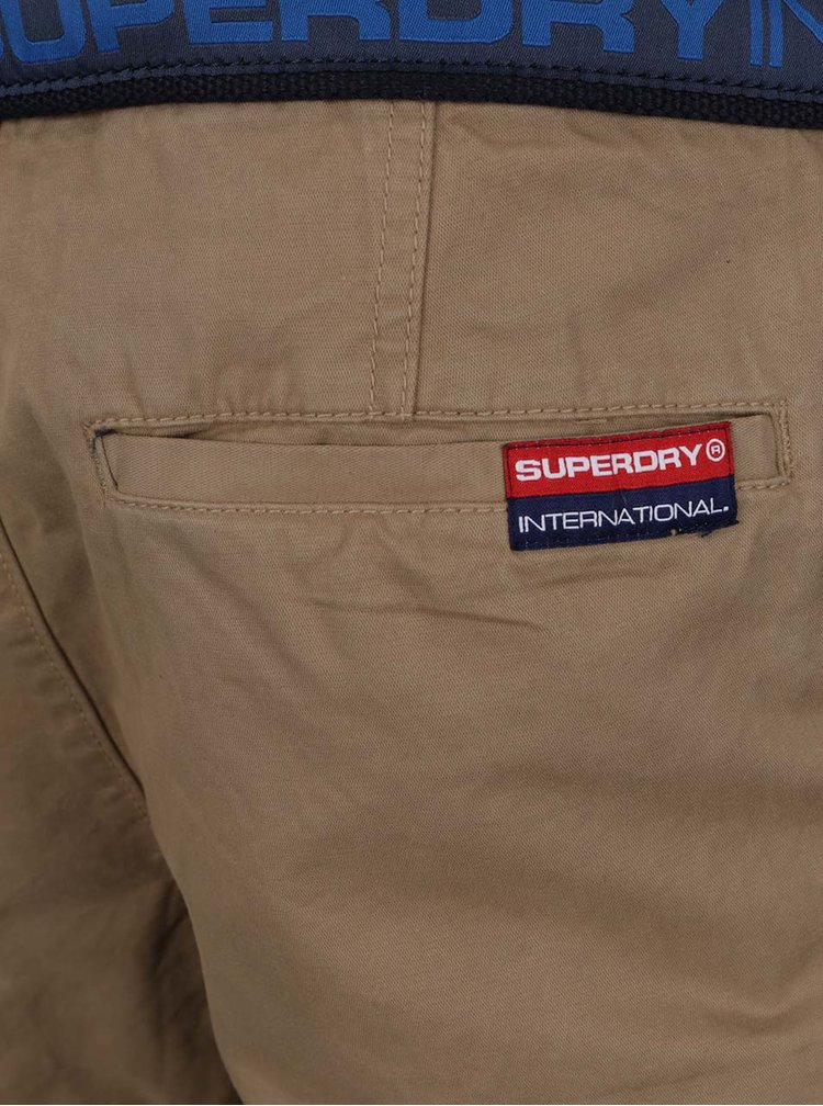 Pantaloni scurti bej Superdry