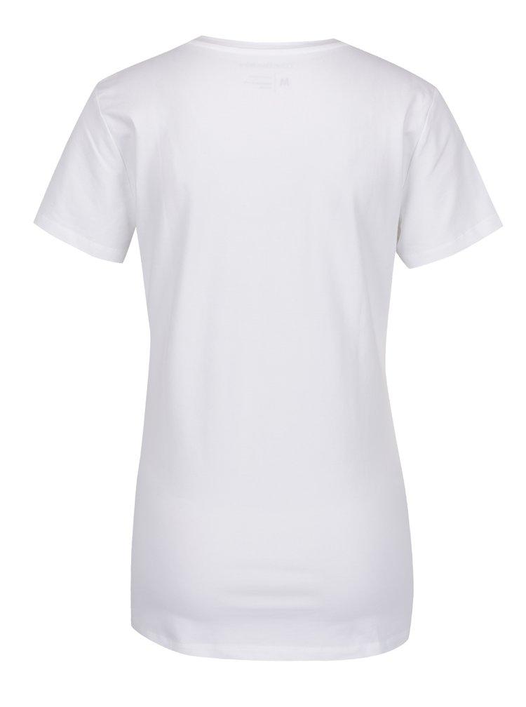 Bílé dámské tričko Calvin Klein Jeans Tanya