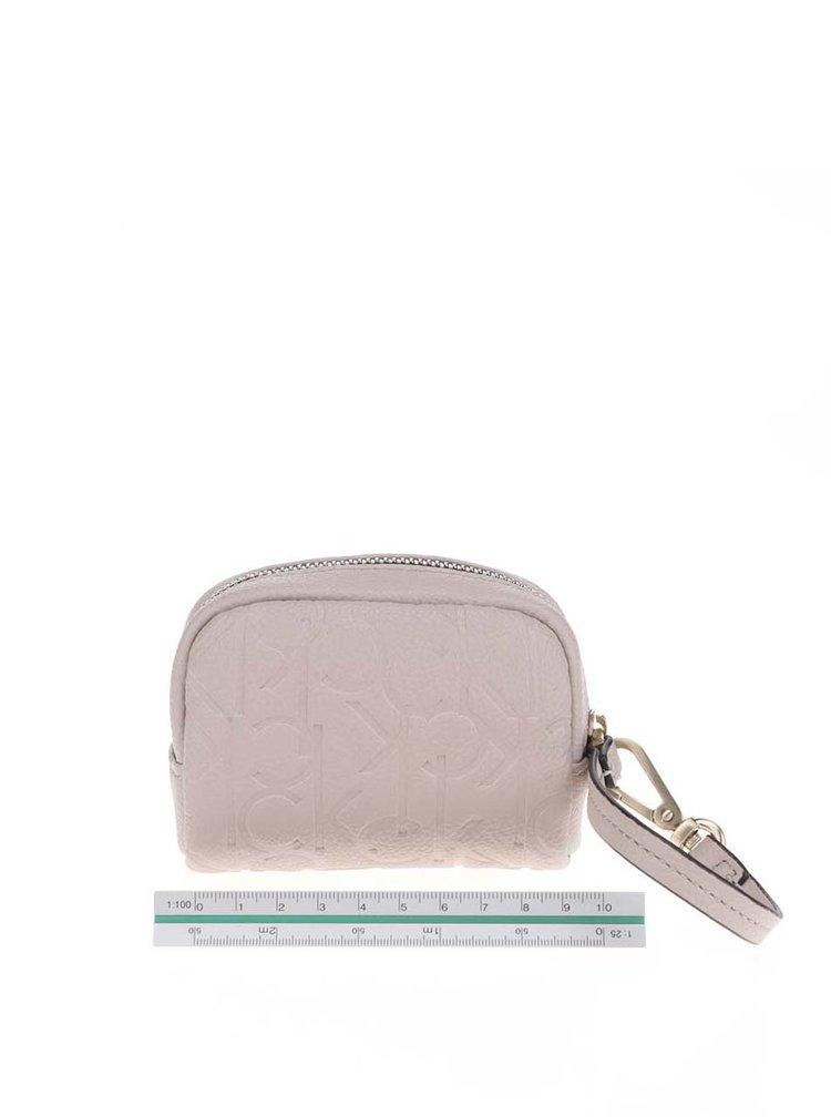 Béžová dámská malá peněženka Calvin Klein Jeans Misha