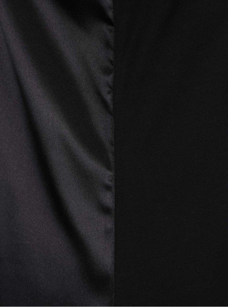 Černé maxišaty Calvin Klein Jeans Drew
