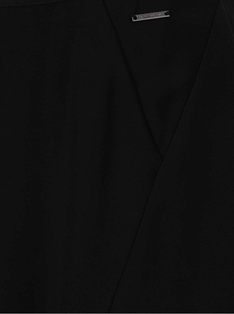 Černá mini sukně s rozparky Calvin Klein Jeans Kali