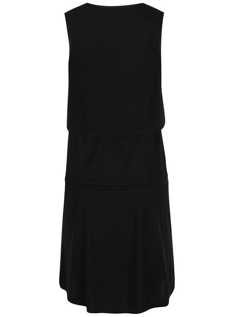 Černé šaty Calvin Klein Jeans Diabolo