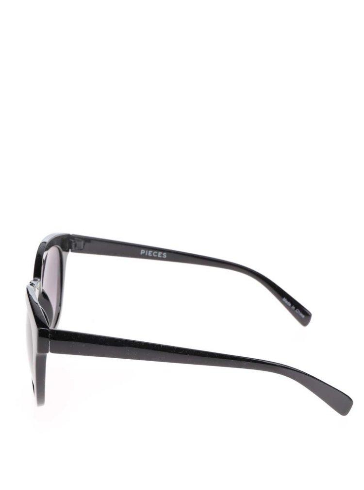 Ochelari de soare negri  Pieces Kalinda