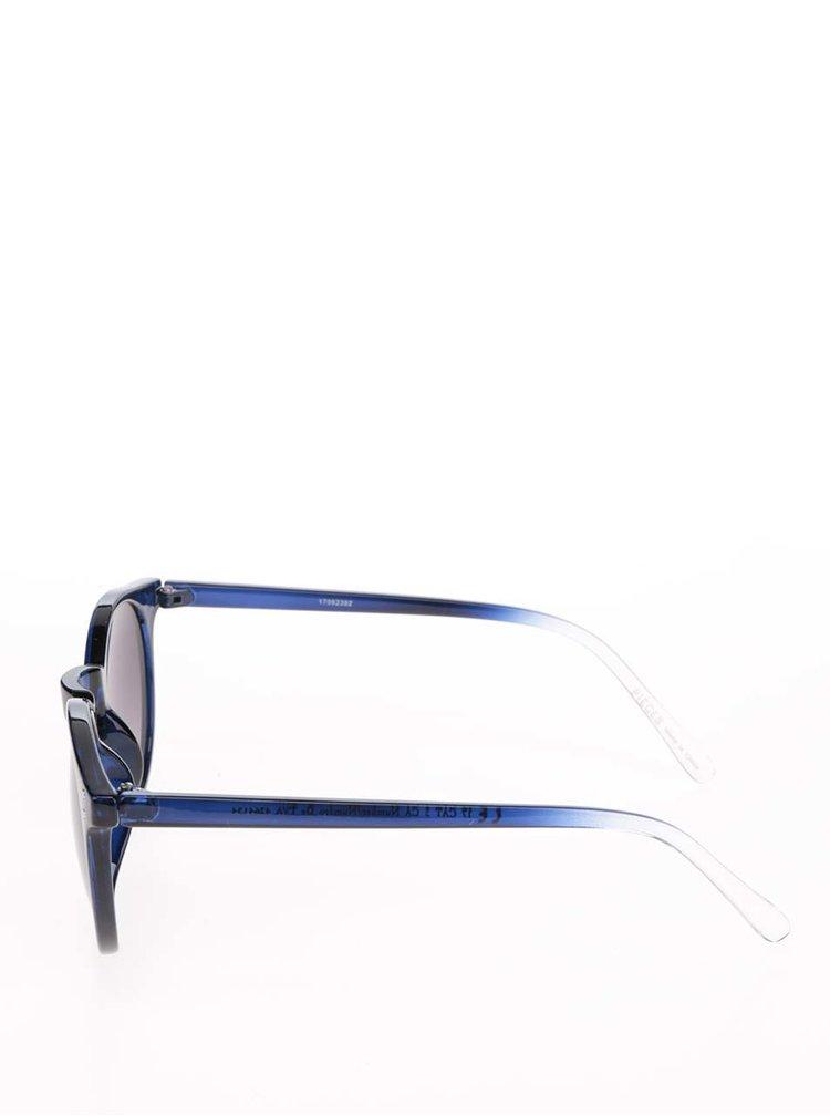 Tmavě modré sluneční brýle Pieces Kacey