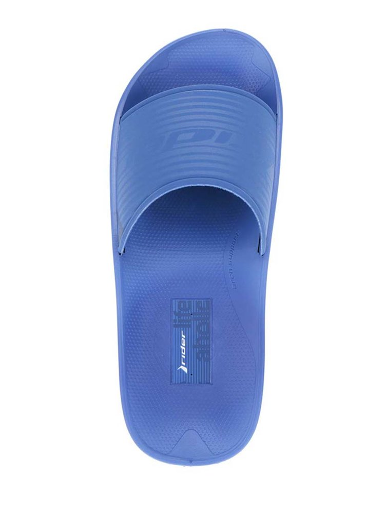 Papuci albaștrii Rider Montreal cu talpă comodă