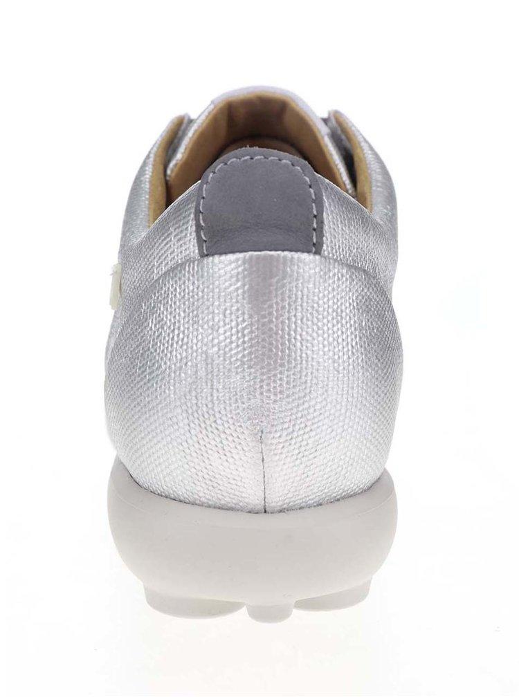 Dámské tenisky ve stříbrné barvě Camper Pelotas