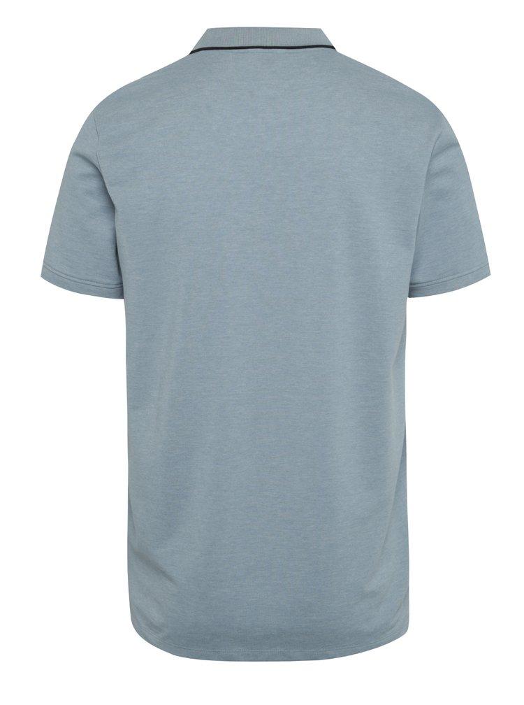 Světle modré polo triko Jack & Jones Stone