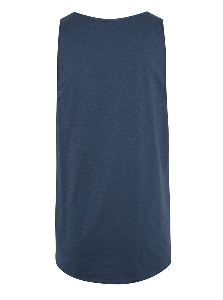 Tmavě modré žíhané tílko Jack & Jones New Wallet