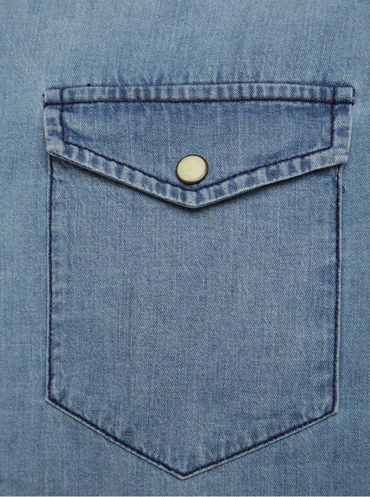 Cămașă albastră din denim Jack & Jones One