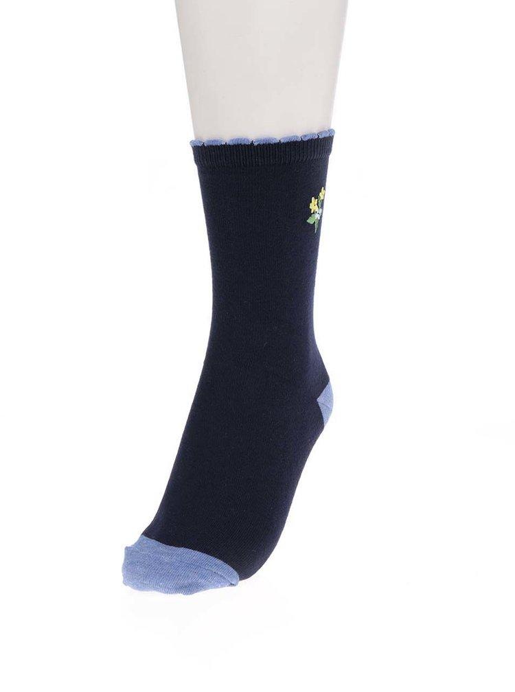 Set de 3 perechi de șosete gri & albastru M&Co cu model