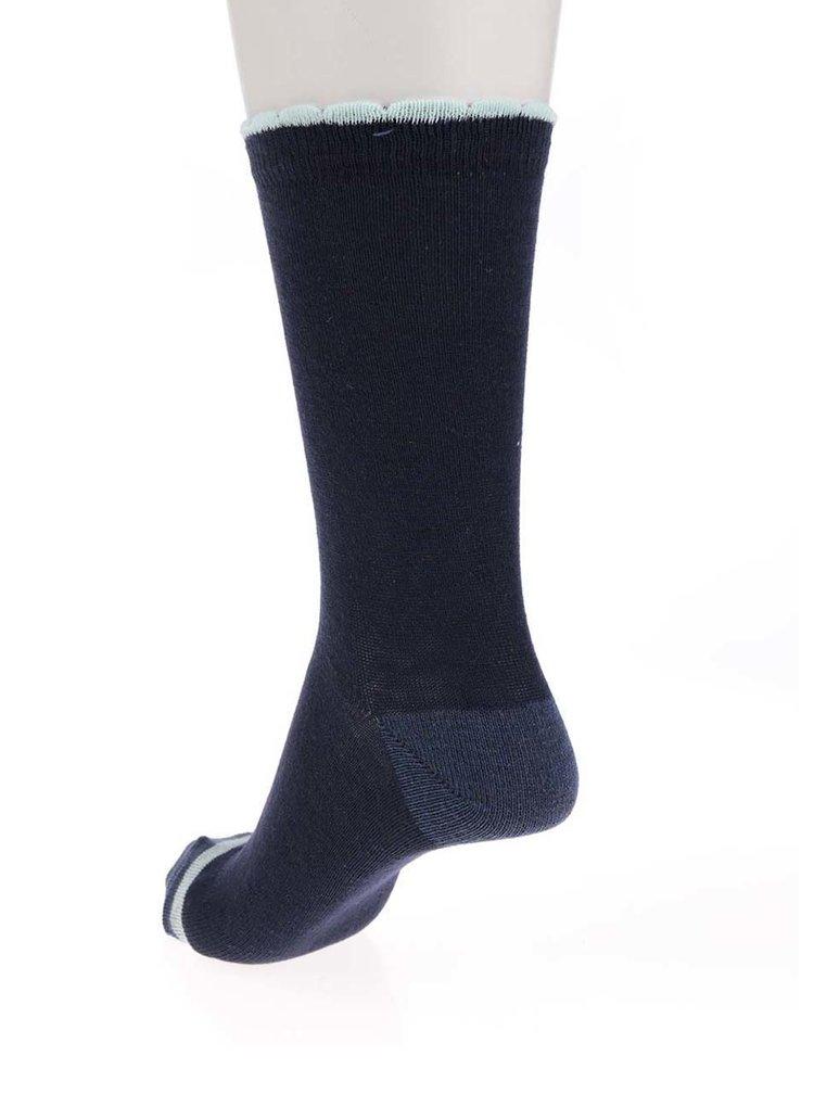 Set de 5 perechi de șosete albastru & gri & bej M&Co cu model