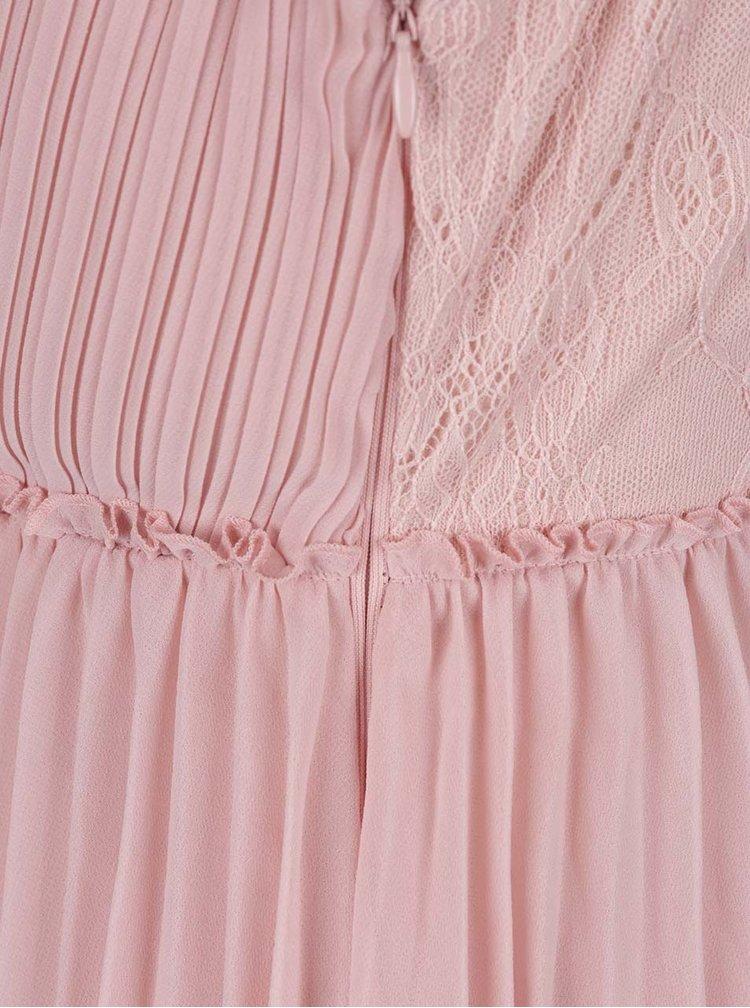 Rochie roz pal VILA Ines
