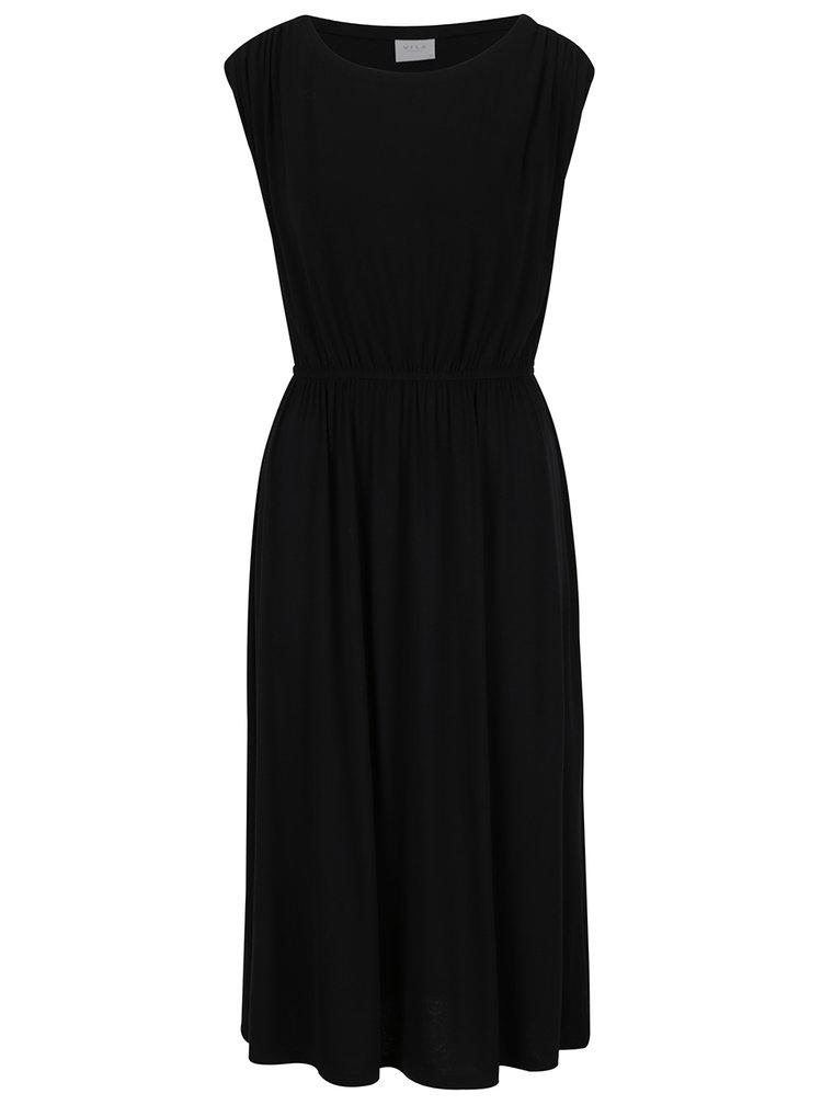 Černé basic šaty VILA Samja