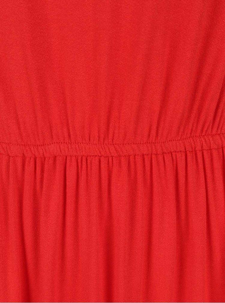 Rochie basic roșid VILA Samja