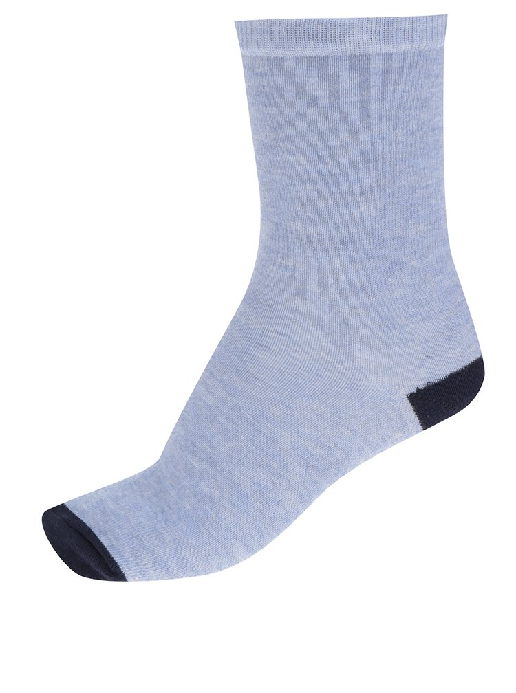 Sada pěti párů dámských ponožek v modré barvě M&Co