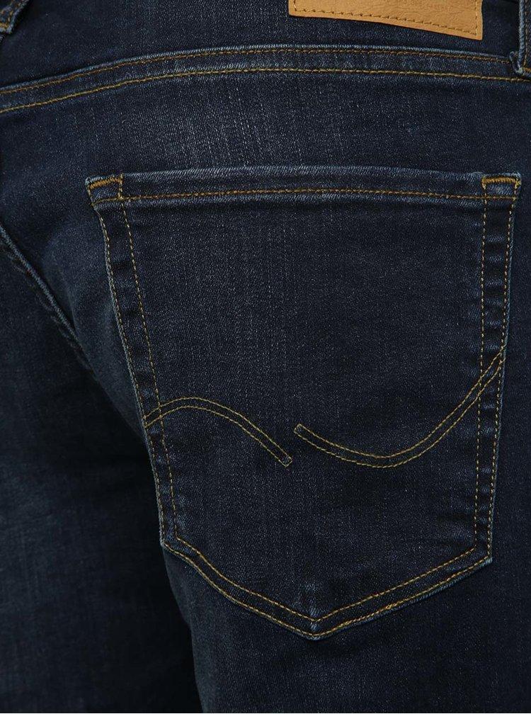 Tmavě modré skinny džíny Jack & Jones Liam