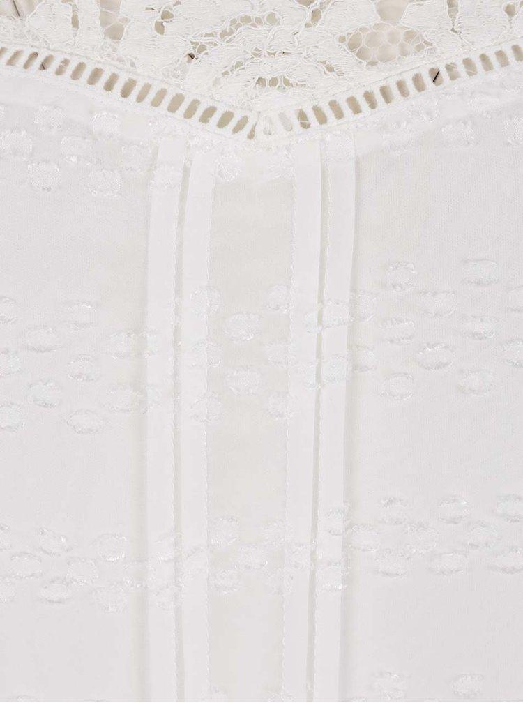 Bluza crem M&Co cu detalii din dantela
