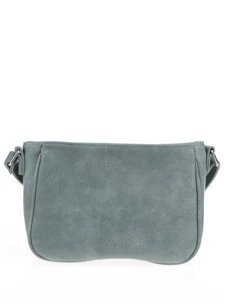 Zelená crossbody kabelka s psaníčkem M&Co