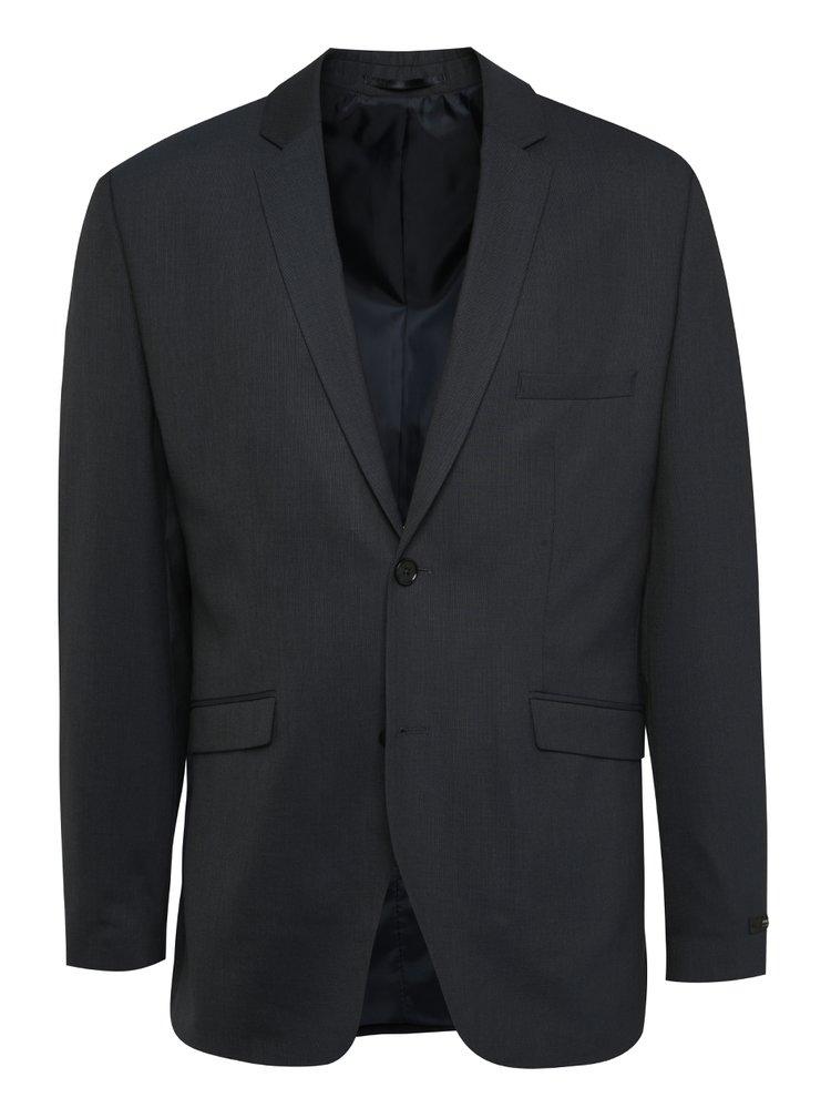 Tmavě modré oblekové sako Jack & Jones Wayne