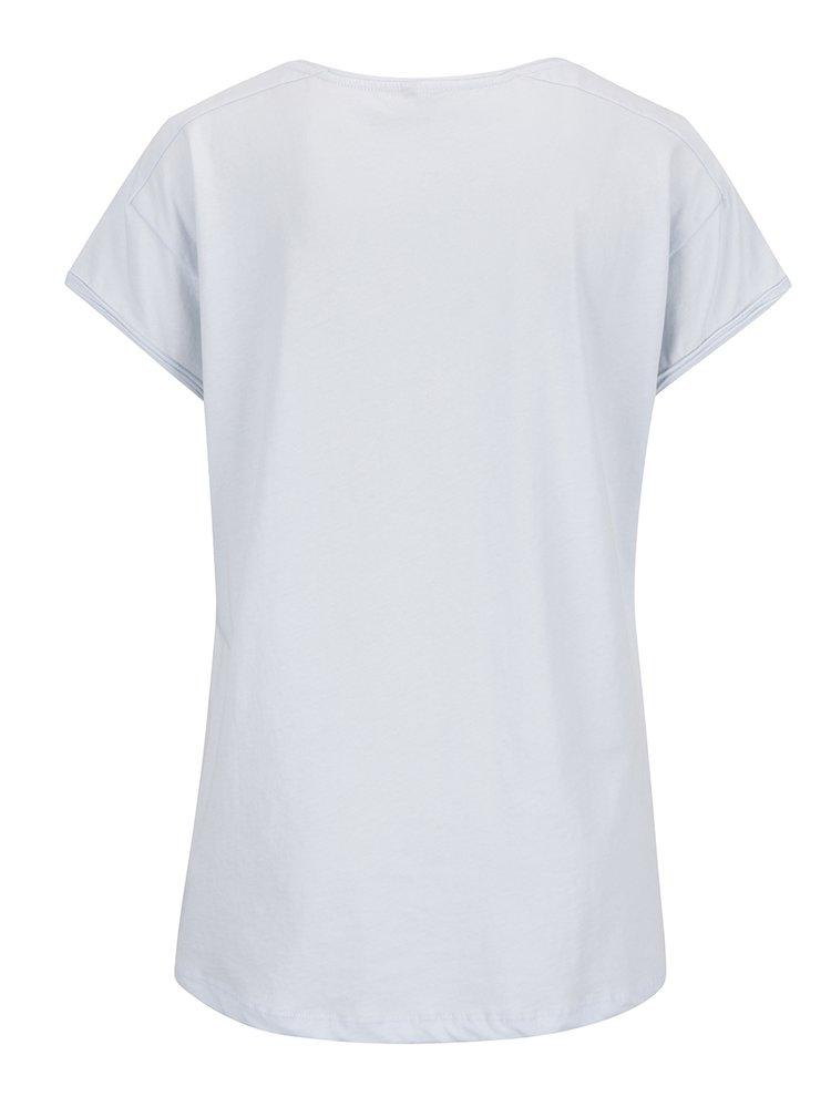 Světle modré tričko s krátkým rukávem YAYA