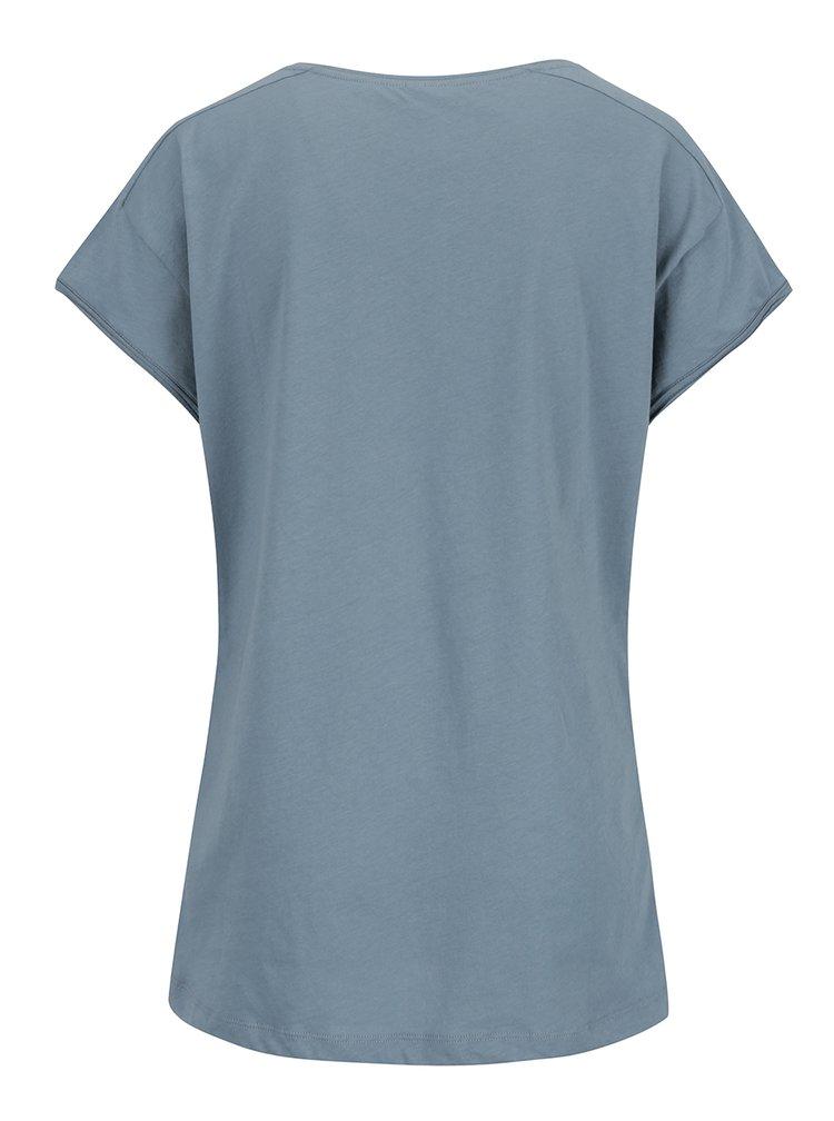 Zelené vzorované tričko YAYA