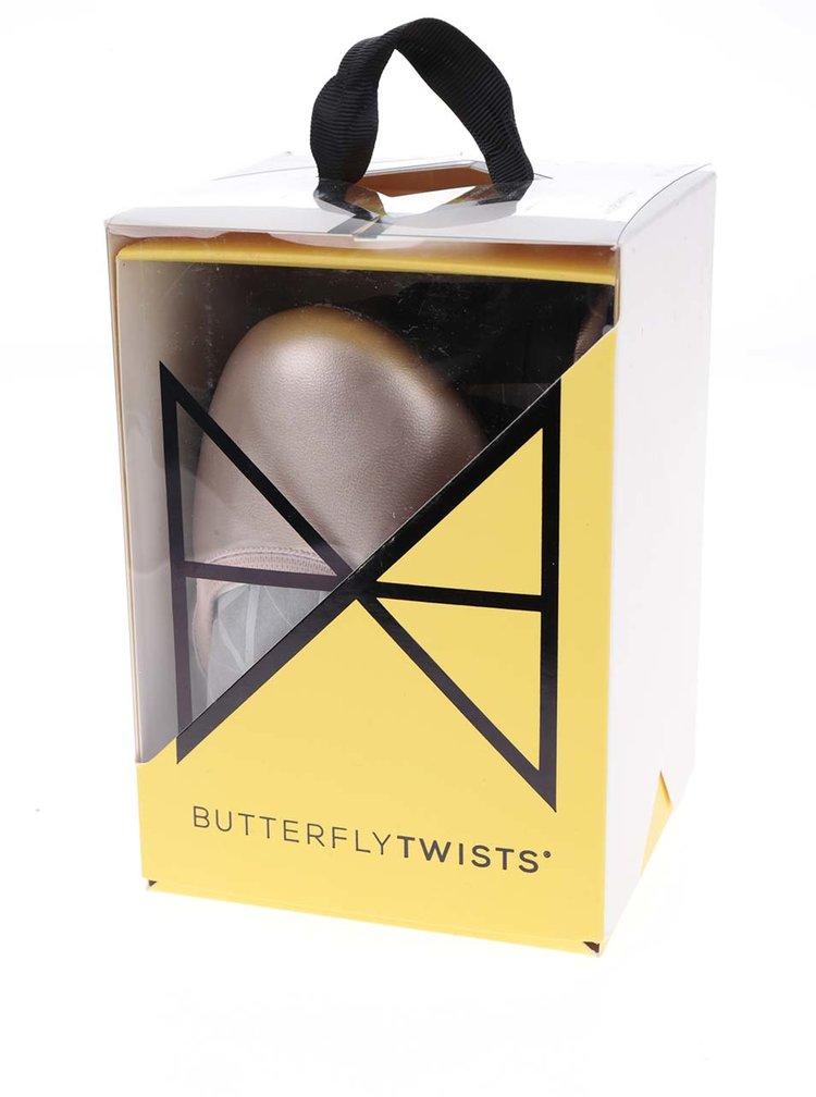 Starorůžové baleríny do kabelky Butterfly Twists Sophia