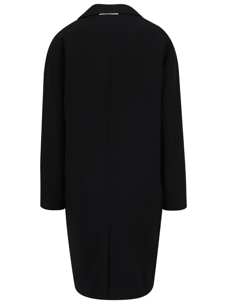 Černý lehký kabát YAYA