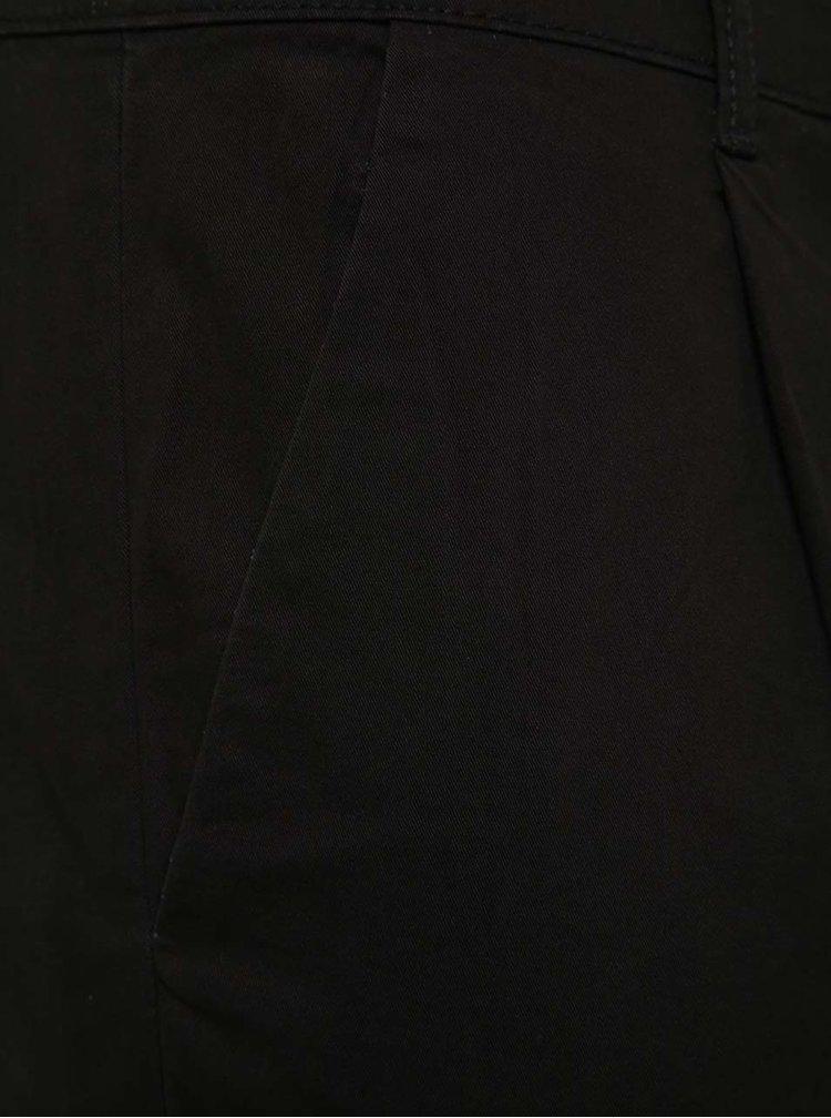 Černé zkrácené chino kalhoty ONLY & SONS Hale