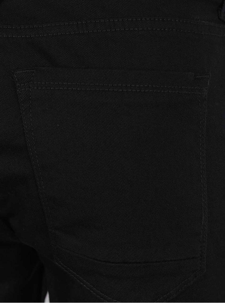 Pantaloni scurți negri Burton Menswear London din denim
